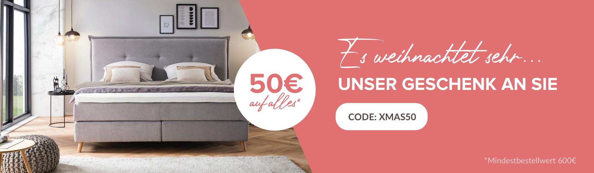 50€ Rabatt